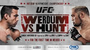 UFC 180: Hunt vs. Werdum Results and Bonuses Ufc180