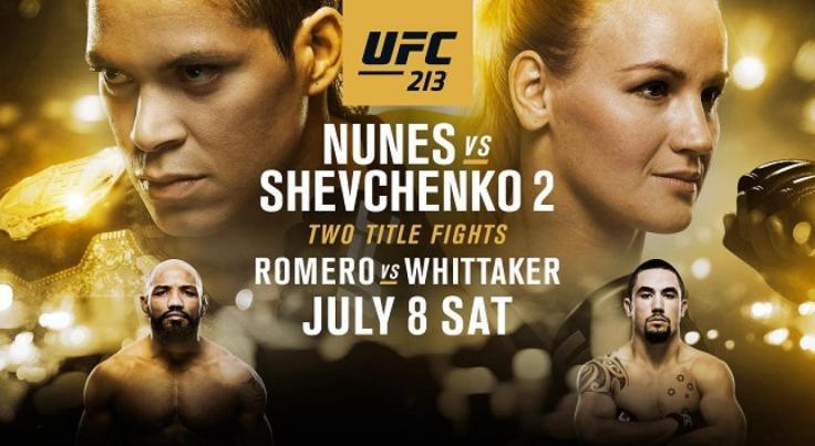 UFC213