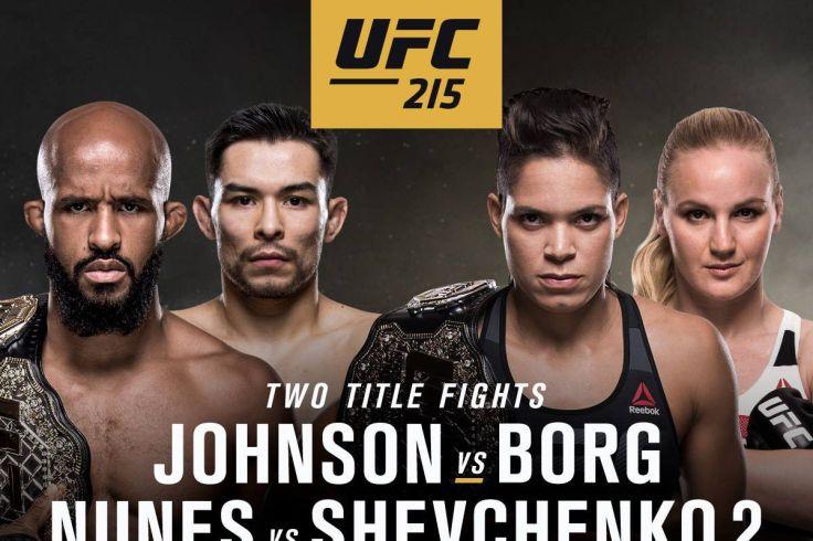 UFC215